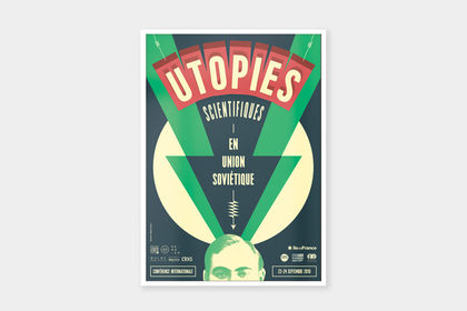 "Poster ""Utopies Scientifiques"""
