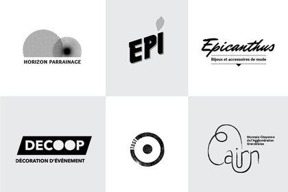 Sélection de logotypes • 2016