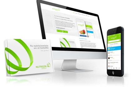 Identité visuelle d'une application de nutrition