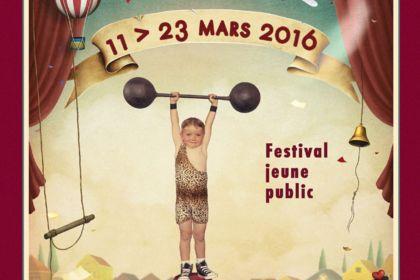Affiche du Festival Scènes d'enfance 2015