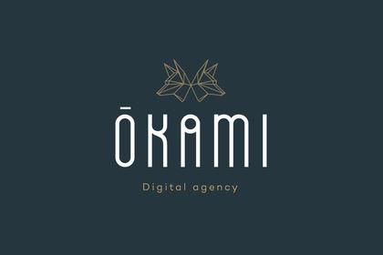 Logo pour l'agence Web Okami