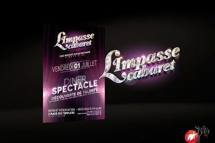 """Logo """"L'impasse Cabaret"""""""