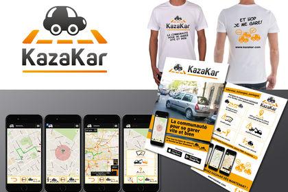 Identité visuelle de Kazakar