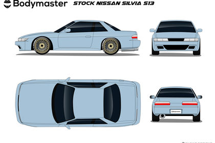 Nissan Slivia S13 Template par TaDy's Designs