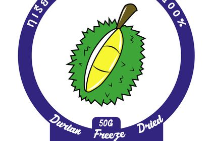 Logo Biscuit Durian Thai