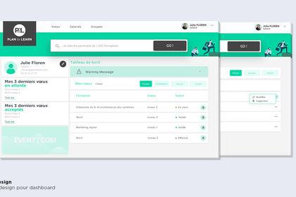 Webdesign - Dashboard