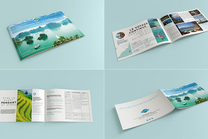 Brochure agence voyage