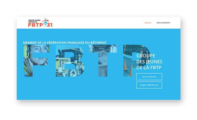 Site web Jeune Dirigeants FBTP31