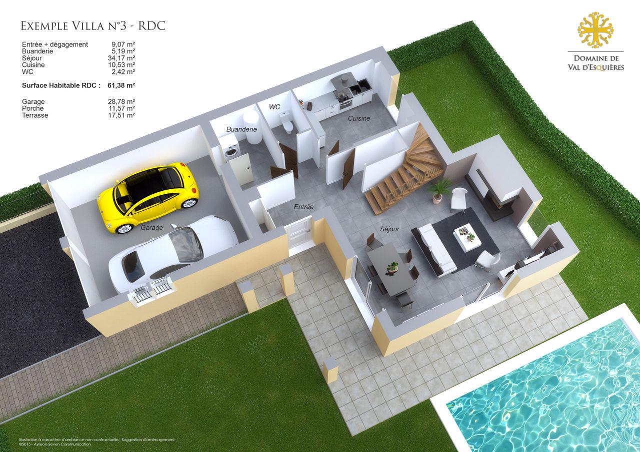 Exemple illustration plan de vente