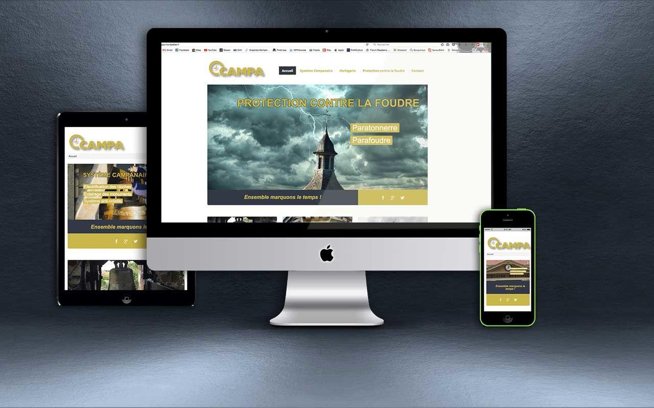 Création site internet Sarl Royon Campa