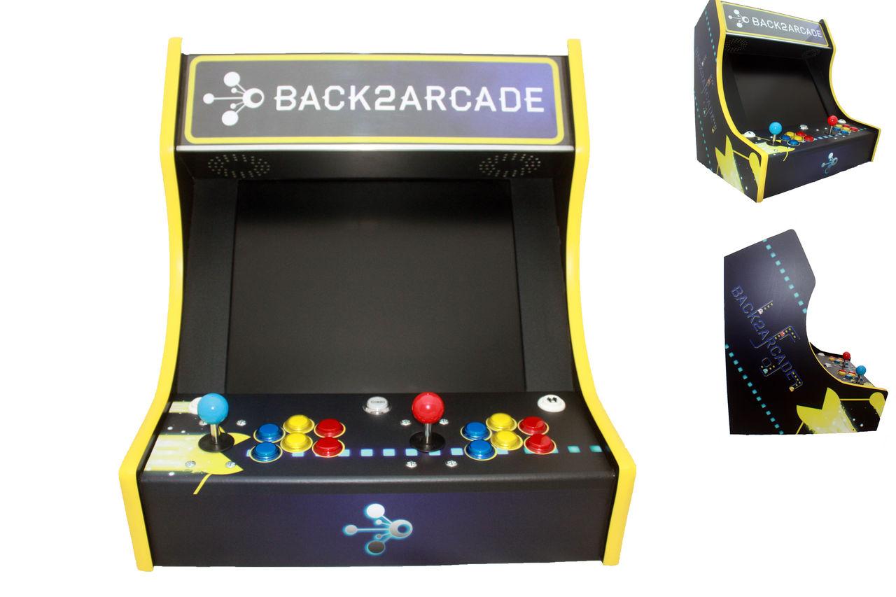 Création design perso pour borne d'arcade retro