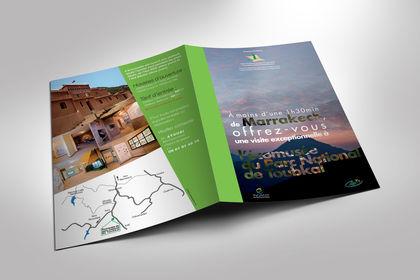 Réalisation brochure sur le voyage