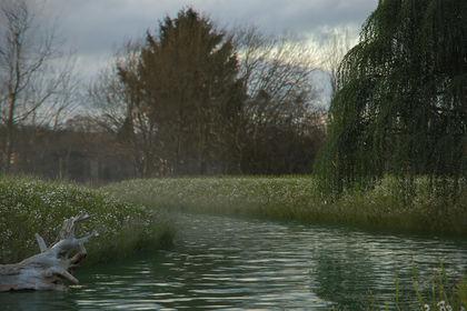 3D River Landscape