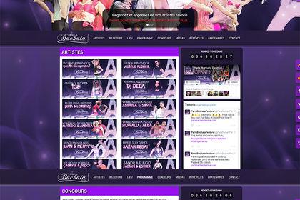 PBF 2016 - Site internet