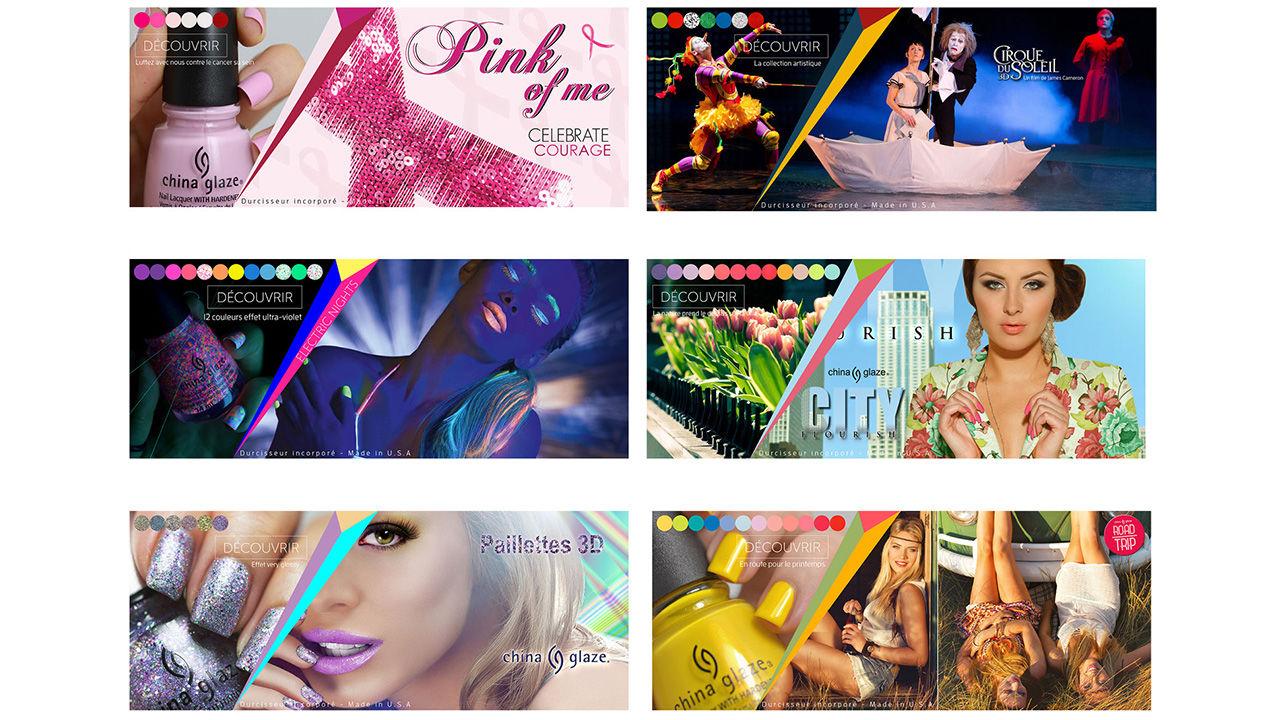 Banner web cosmétiques