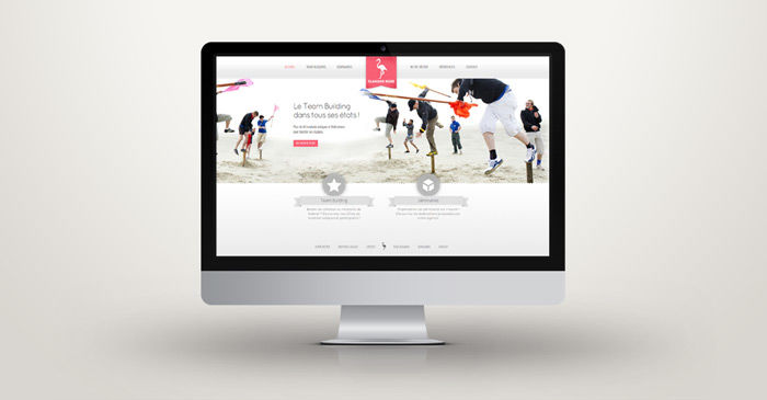 Flamand Rose - site web