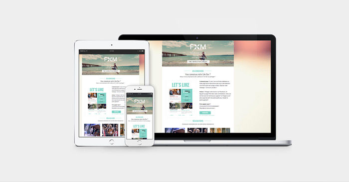 FXM - site web & emailings