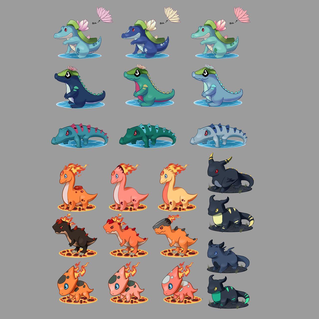 Concept créatures