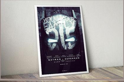 Affiche de film / Batman v Superman
