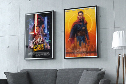 Affiche de film / Star Wars & Doctor Strange