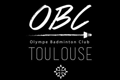 Logo du club de badminton Olympe Badminton Club