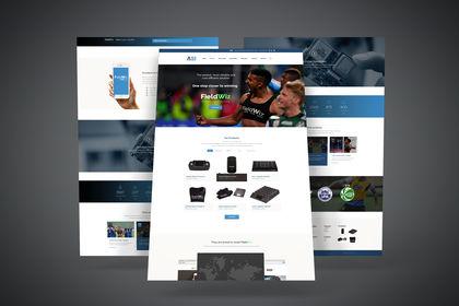 Création Maquettes Site-Web Corporate - Medianet
