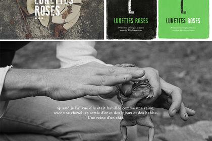 Lunettes Roses-Logo et Site web