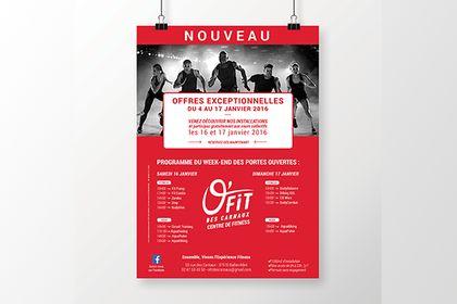Poster salle de sport