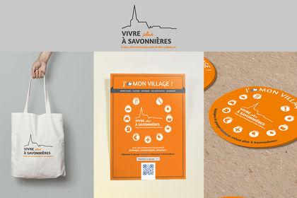 Logo et charte graphique association village