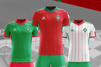 Concept maillot football
