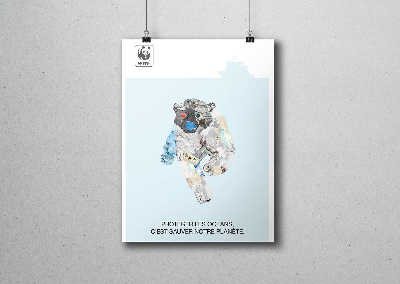 Campagne d'affichage WWF