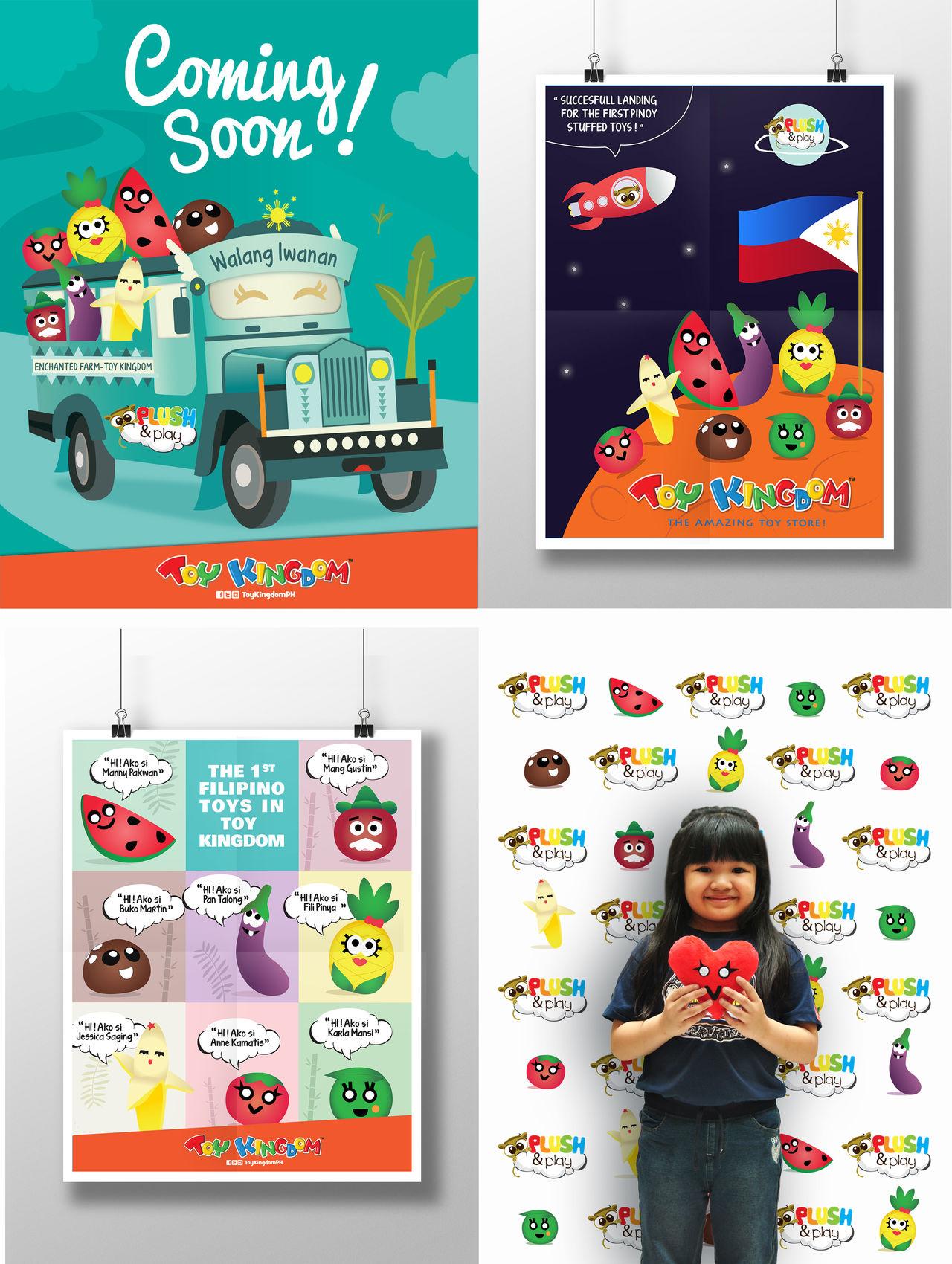 Plush & Play Poster