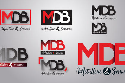 Conception logo société MDB