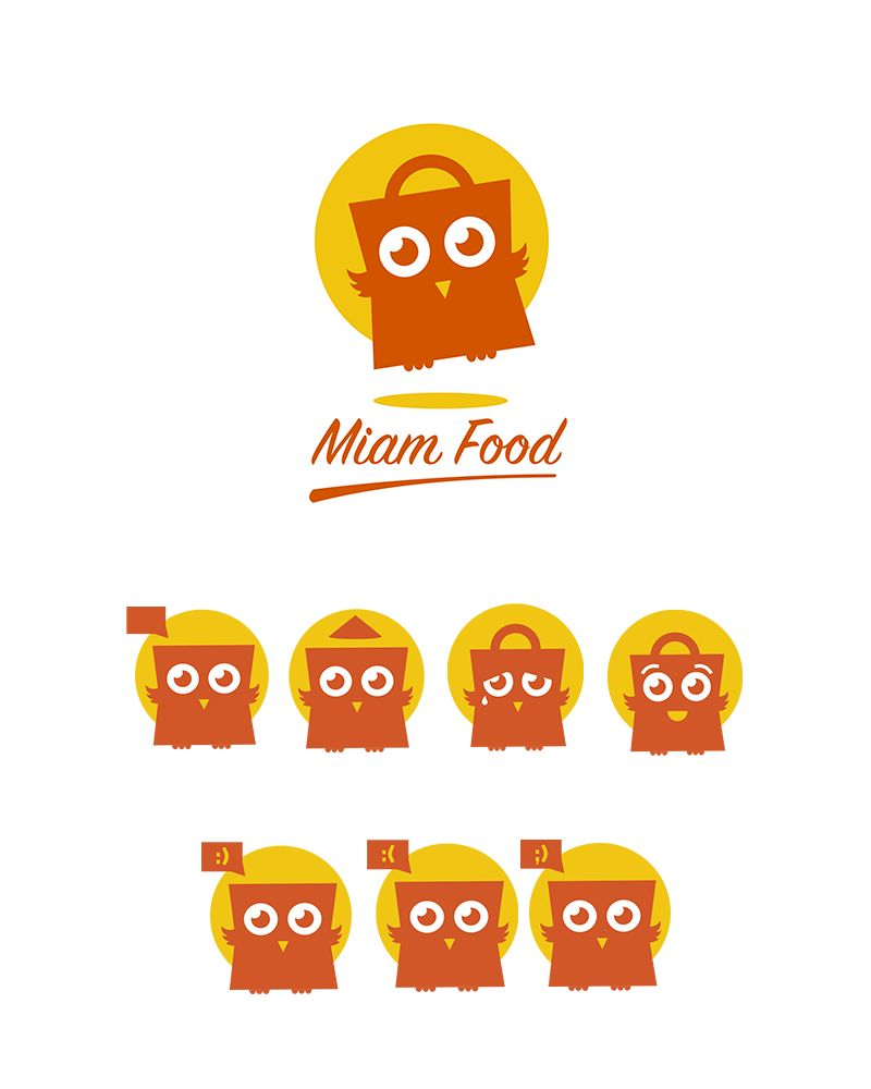 Logotype Miam Food
