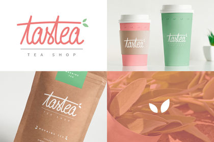 Logo Tea shop / packaging / déclinaisons