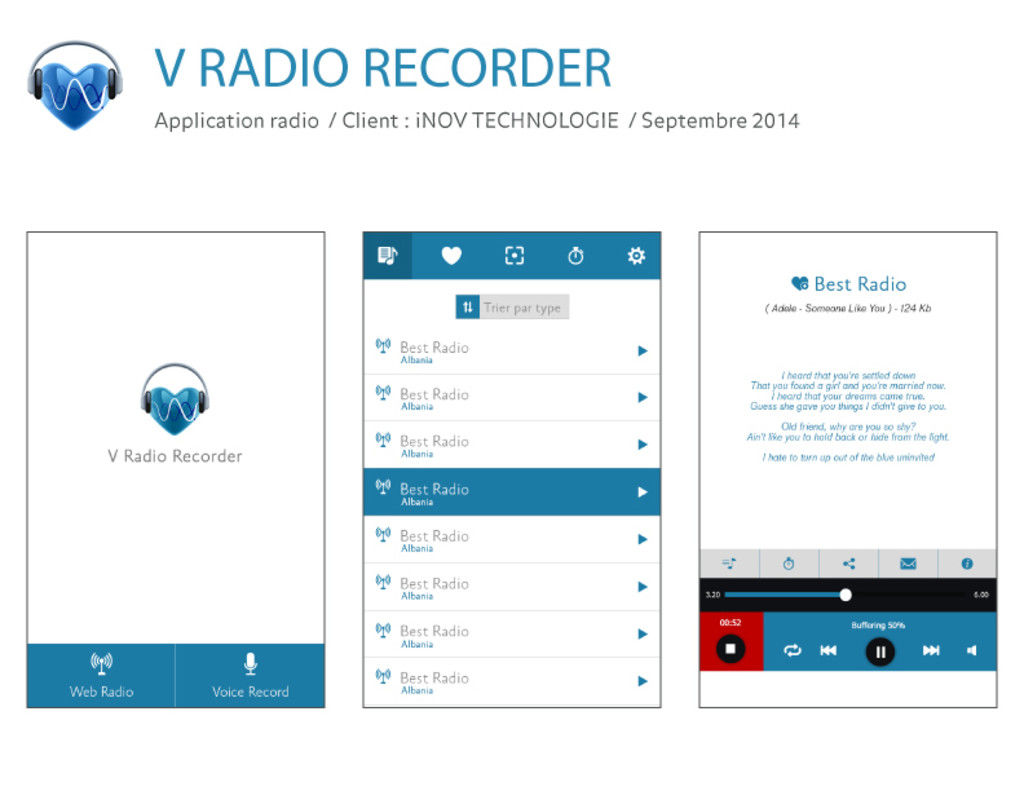 Application android & IOS_radio