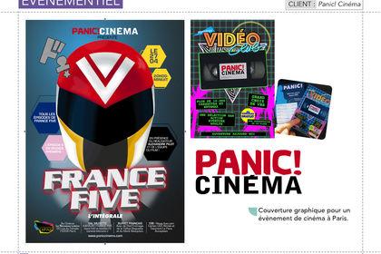 Affiches, Flyers pour Panic! Cinéma