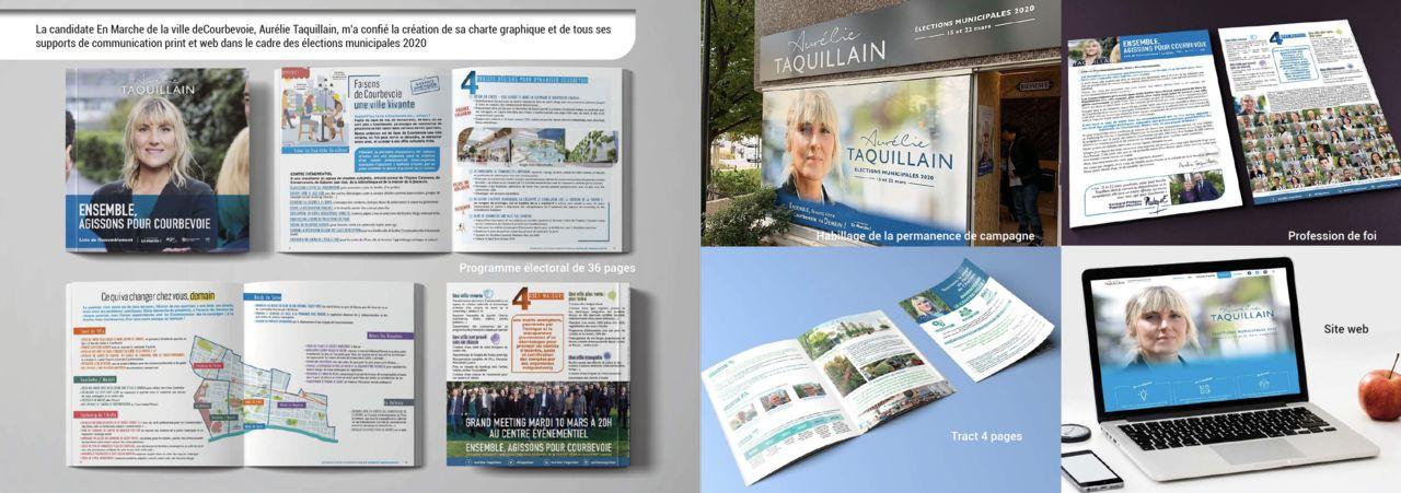 CAMPAGNE MUNICIPALE 2020 COURBEVOIE
