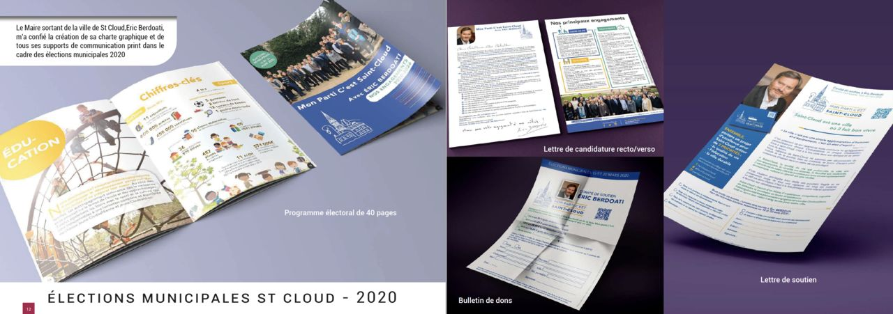 CAMPAGNE MUNICIPALE 2020 SAINT CLOUD