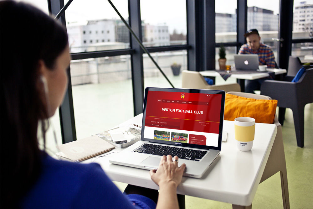 Site internet FC Verton