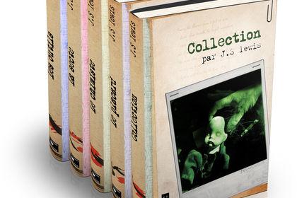 Couvertures pour une collection de romans noirs