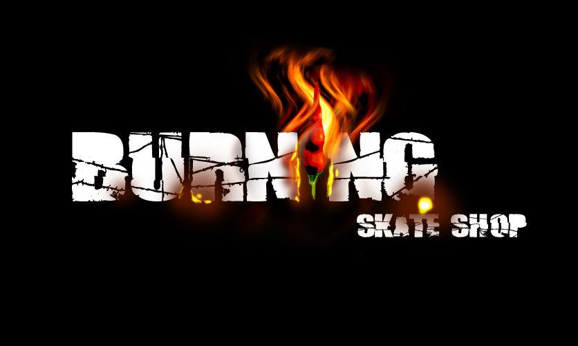 Burning skateshop