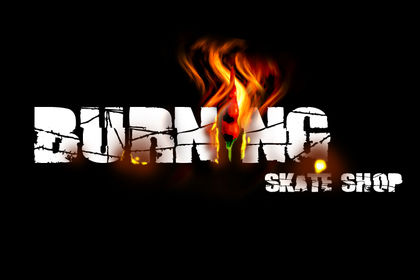 Burning skateshop