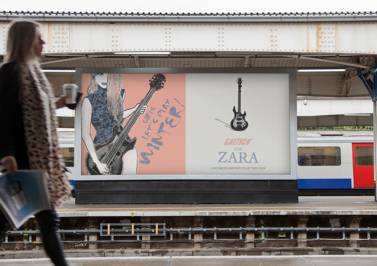 GRETSCH FOR ZARA