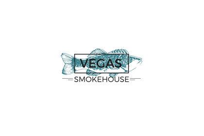 Logo pour une marque de vente de saumon fumé