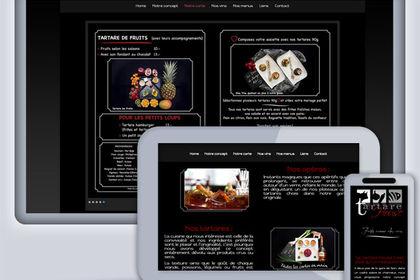 Site Web Tartare House