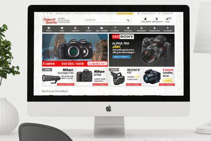 Site E-commerce : Objectif Bastille