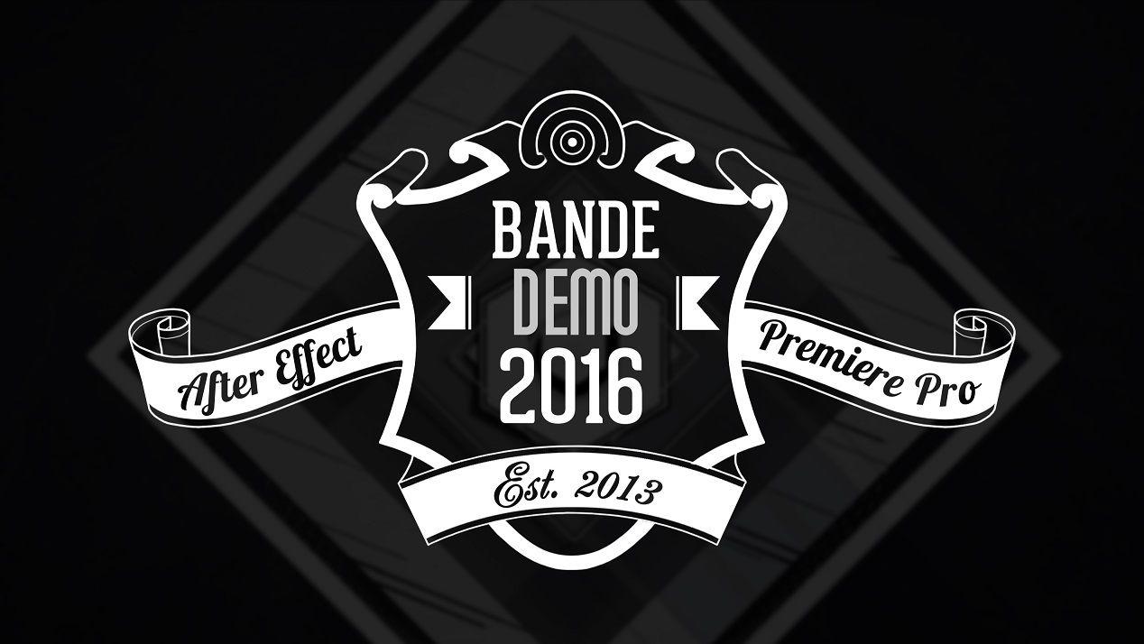 Bande Démo 2016 - After Effect