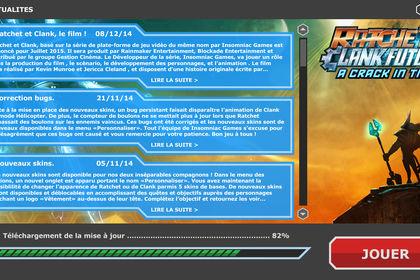 Jeux Vidéo - Simulation écran de chargement