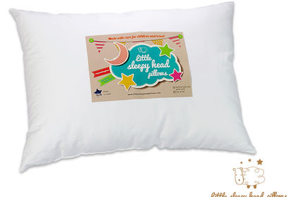 Etiquette pour un oreiller destiné aux enfants